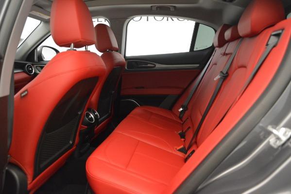 New 2019 Alfa Romeo Stelvio Sport Q4 for sale Sold at Bugatti of Greenwich in Greenwich CT 06830 19