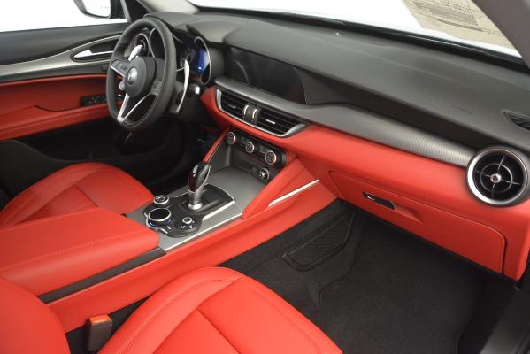 New 2019 Alfa Romeo Stelvio Sport Q4 for sale Sold at Bugatti of Greenwich in Greenwich CT 06830 22