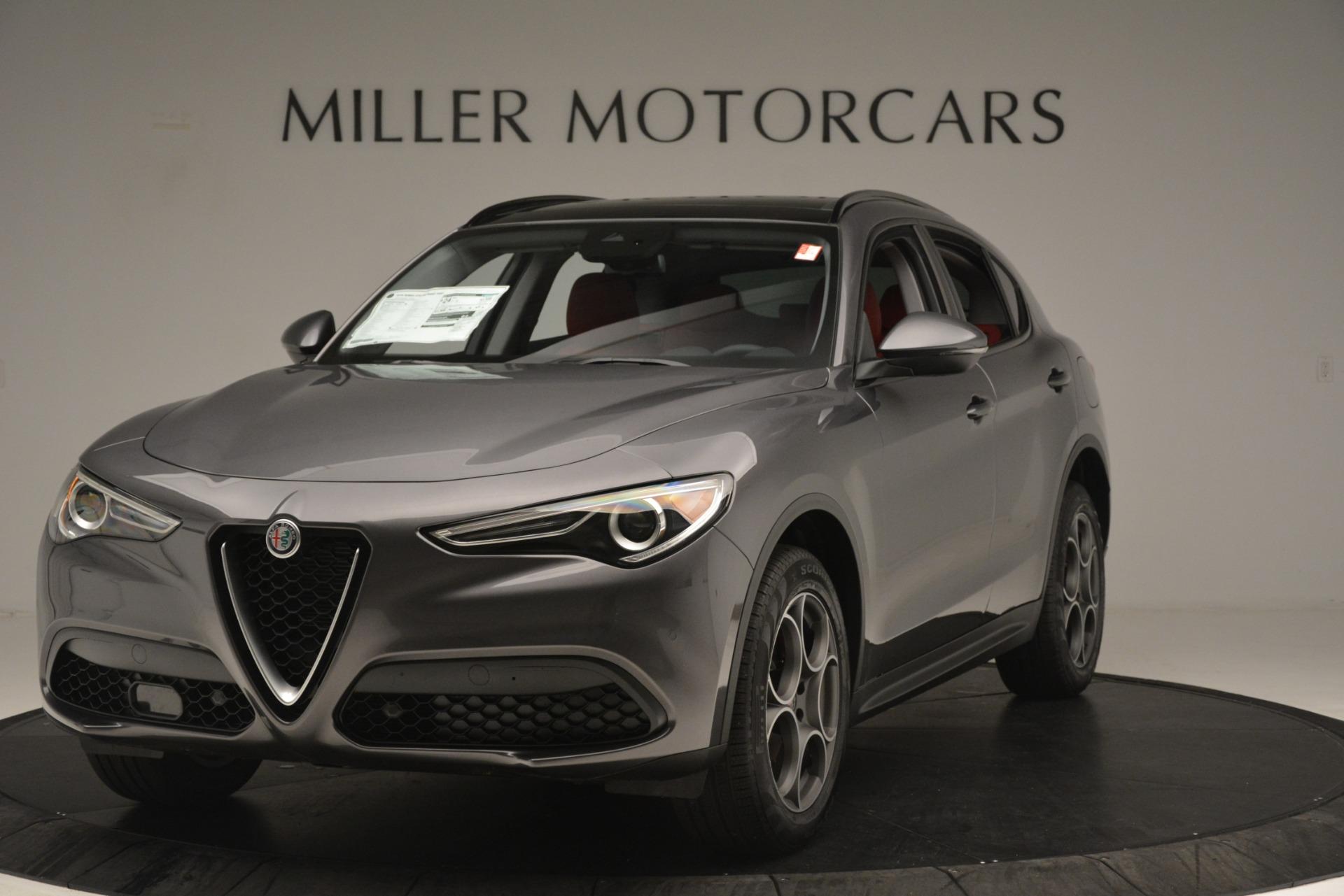 New 2019 Alfa Romeo Stelvio Sport Q4 for sale Sold at Bugatti of Greenwich in Greenwich CT 06830 1