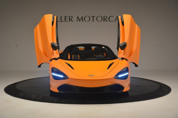 New 2020 McLaren 720S Spider for sale $406,620 at Bugatti of Greenwich in Greenwich CT 06830 13
