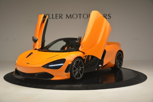 New 2020 McLaren 720S Spider for sale $406,620 at Bugatti of Greenwich in Greenwich CT 06830 14