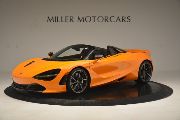 New 2020 McLaren 720S Spider for sale $406,620 at Bugatti of Greenwich in Greenwich CT 06830 2