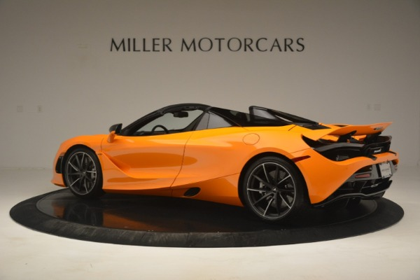 New 2020 McLaren 720S Spider for sale $406,620 at Bugatti of Greenwich in Greenwich CT 06830 4