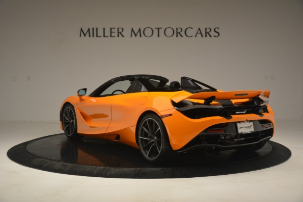 New 2020 McLaren 720S Spider for sale $406,620 at Bugatti of Greenwich in Greenwich CT 06830 5