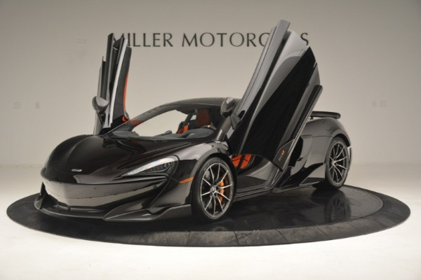 New 2019 McLaren 600LT Coupe for sale Call for price at Bugatti of Greenwich in Greenwich CT 06830 15