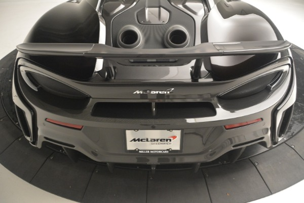 New 2019 McLaren 600LT Coupe for sale Call for price at Bugatti of Greenwich in Greenwich CT 06830 26