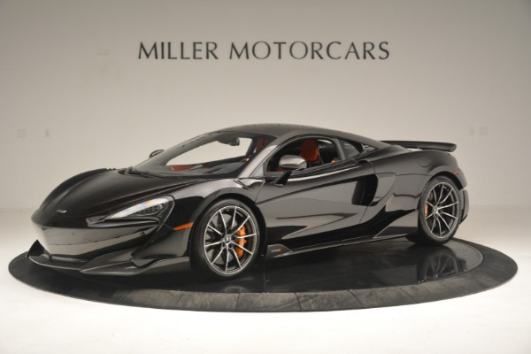 New 2019 McLaren 600LT Coupe for sale Call for price at Bugatti of Greenwich in Greenwich CT 06830 3