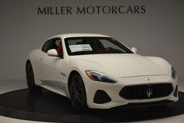 New 2018 Maserati GranTurismo Sport for sale Sold at Bugatti of Greenwich in Greenwich CT 06830 11