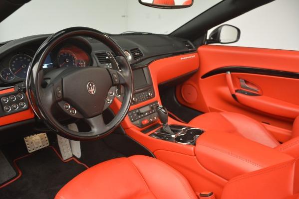 Used 2015 Maserati GranTurismo Sport for sale Sold at Bugatti of Greenwich in Greenwich CT 06830 25