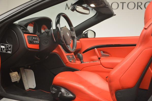 Used 2015 Maserati GranTurismo Sport for sale Sold at Bugatti of Greenwich in Greenwich CT 06830 26