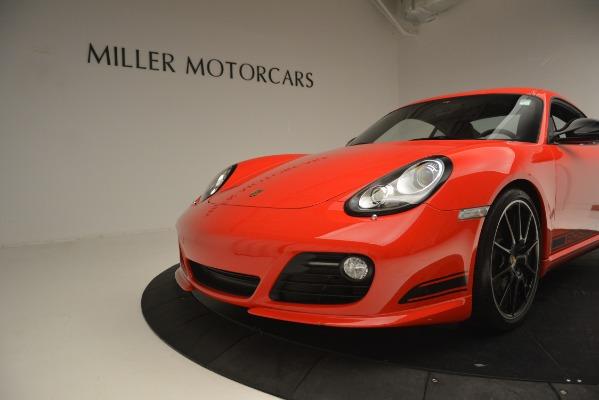 Used 2012 Porsche Cayman R for sale Sold at Bugatti of Greenwich in Greenwich CT 06830 15