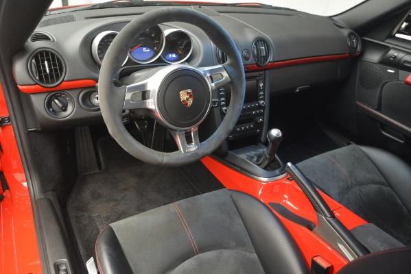 Used 2012 Porsche Cayman R for sale Sold at Bugatti of Greenwich in Greenwich CT 06830 17