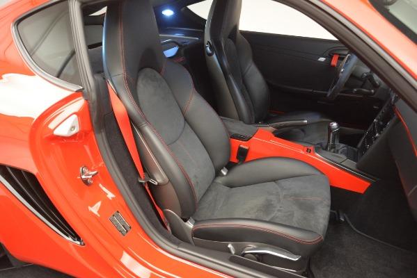 Used 2012 Porsche Cayman R for sale Sold at Bugatti of Greenwich in Greenwich CT 06830 23