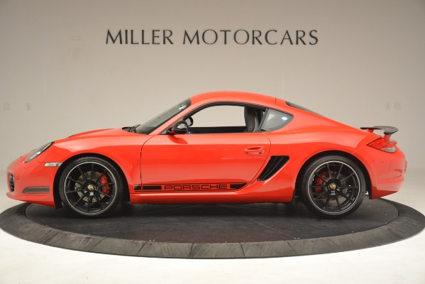 Used 2012 Porsche Cayman R for sale Sold at Bugatti of Greenwich in Greenwich CT 06830 3