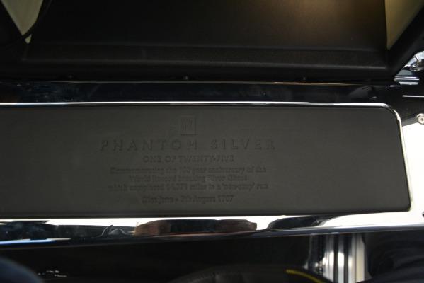 Used 2007 Rolls-Royce Phantom for sale Sold at Bugatti of Greenwich in Greenwich CT 06830 15