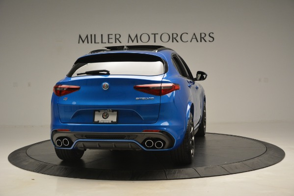 New 2019 Alfa Romeo Stelvio Quadrifoglio for sale $86,790 at Bugatti of Greenwich in Greenwich CT 06830 10