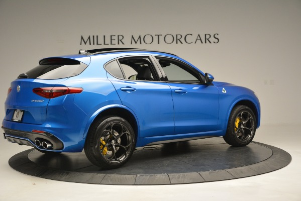 New 2019 Alfa Romeo Stelvio Quadrifoglio for sale $86,790 at Bugatti of Greenwich in Greenwich CT 06830 12