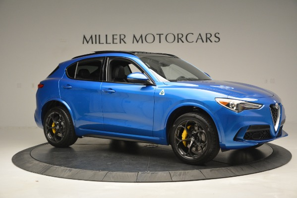 New 2019 Alfa Romeo Stelvio Quadrifoglio for sale $86,790 at Bugatti of Greenwich in Greenwich CT 06830 16