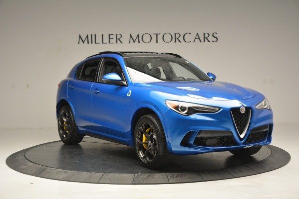 New 2019 Alfa Romeo Stelvio Quadrifoglio for sale $86,790 at Bugatti of Greenwich in Greenwich CT 06830 17