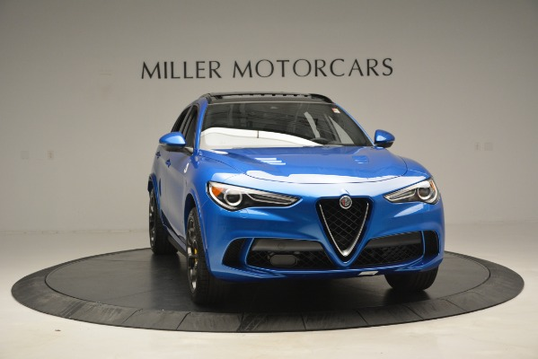 New 2019 Alfa Romeo Stelvio Quadrifoglio for sale $86,790 at Bugatti of Greenwich in Greenwich CT 06830 18