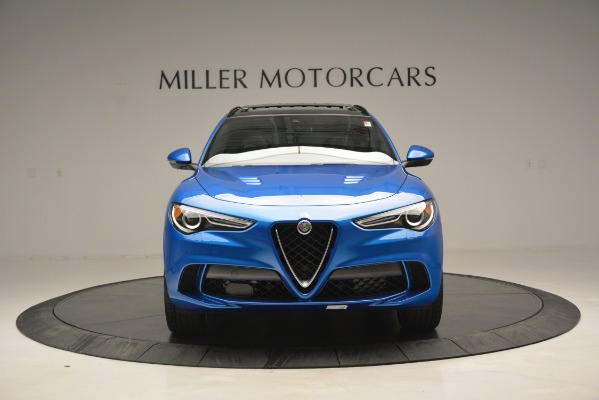New 2019 Alfa Romeo Stelvio Quadrifoglio for sale $86,790 at Bugatti of Greenwich in Greenwich CT 06830 19