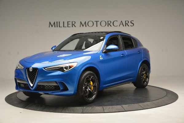 New 2019 Alfa Romeo Stelvio Quadrifoglio for sale $86,790 at Bugatti of Greenwich in Greenwich CT 06830 2