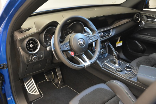 New 2019 Alfa Romeo Stelvio Quadrifoglio for sale $86,790 at Bugatti of Greenwich in Greenwich CT 06830 20