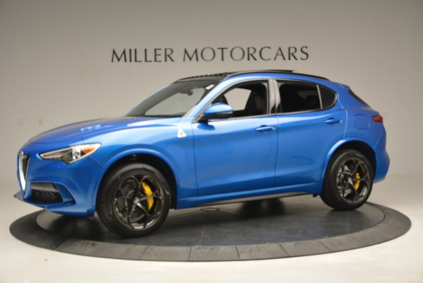 New 2019 Alfa Romeo Stelvio Quadrifoglio for sale $86,790 at Bugatti of Greenwich in Greenwich CT 06830 3