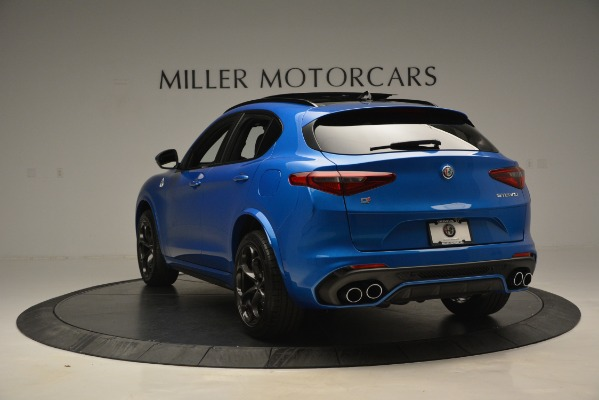 New 2019 Alfa Romeo Stelvio Quadrifoglio for sale $86,790 at Bugatti of Greenwich in Greenwich CT 06830 8