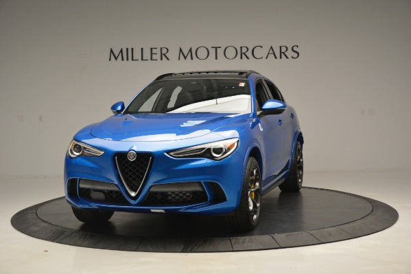 New 2019 Alfa Romeo Stelvio Quadrifoglio for sale $86,790 at Bugatti of Greenwich in Greenwich CT 06830 1