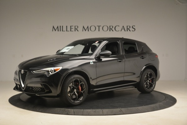 New 2019 Alfa Romeo Stelvio Quadrifoglio for sale Sold at Bugatti of Greenwich in Greenwich CT 06830 2