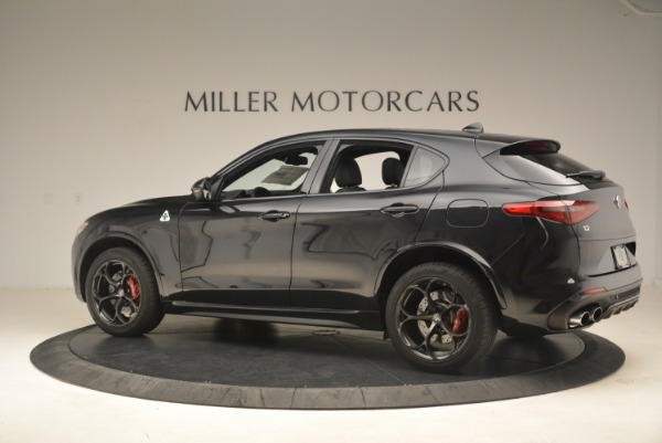 New 2019 Alfa Romeo Stelvio Quadrifoglio for sale Sold at Bugatti of Greenwich in Greenwich CT 06830 4
