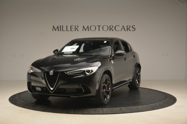 New 2019 Alfa Romeo Stelvio Quadrifoglio for sale Sold at Bugatti of Greenwich in Greenwich CT 06830 1