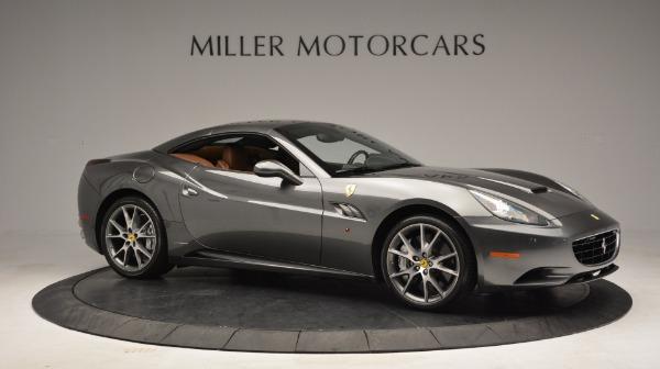 Used 2011 Ferrari California for sale Sold at Bugatti of Greenwich in Greenwich CT 06830 21