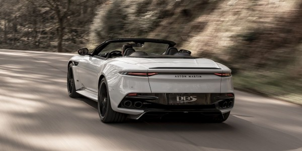 New 2020 Aston Martin DBS Convertible for sale Call for price at Bugatti of Greenwich in Greenwich CT 06830 3