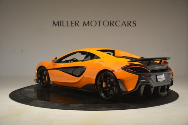 New 2020 McLaren 600LT Spider Convertible for sale Sold at Bugatti of Greenwich in Greenwich CT 06830 17