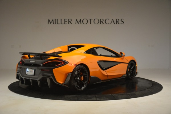 New 2020 McLaren 600LT Spider Convertible for sale Sold at Bugatti of Greenwich in Greenwich CT 06830 19