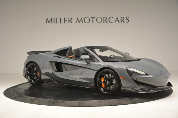 New 2020 McLaren 600LT Spider Convertible for sale Sold at Bugatti of Greenwich in Greenwich CT 06830 10