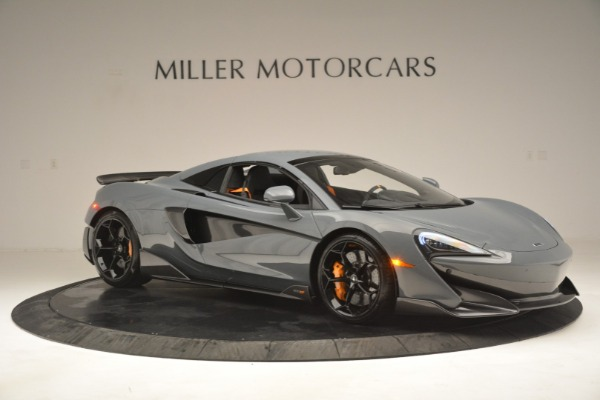 New 2020 McLaren 600LT Spider Convertible for sale Sold at Bugatti of Greenwich in Greenwich CT 06830 21