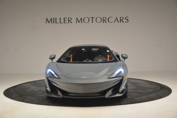 New 2020 McLaren 600LT Spider Convertible for sale Sold at Bugatti of Greenwich in Greenwich CT 06830 22