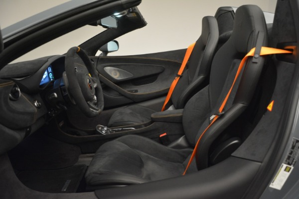 New 2020 McLaren 600LT Spider Convertible for sale Sold at Bugatti of Greenwich in Greenwich CT 06830 25