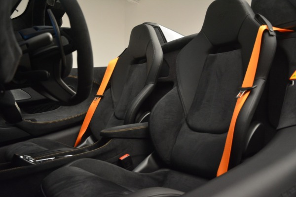 New 2020 McLaren 600LT Spider Convertible for sale Sold at Bugatti of Greenwich in Greenwich CT 06830 26