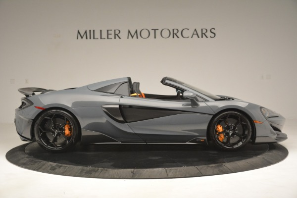 New 2020 McLaren 600LT Spider Convertible for sale Sold at Bugatti of Greenwich in Greenwich CT 06830 9