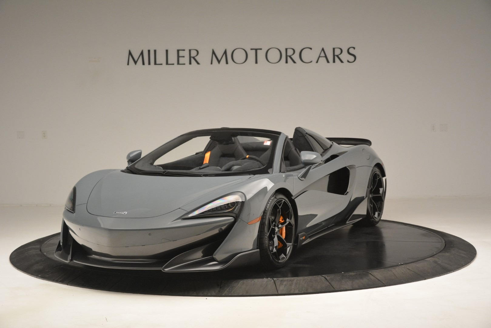 New 2020 McLaren 600LT Spider Convertible for sale Sold at Bugatti of Greenwich in Greenwich CT 06830 1