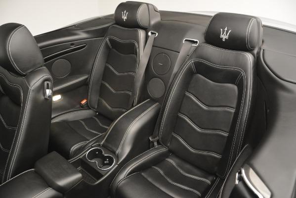 Used 2016 Maserati GranTurismo for sale Sold at Bugatti of Greenwich in Greenwich CT 06830 22
