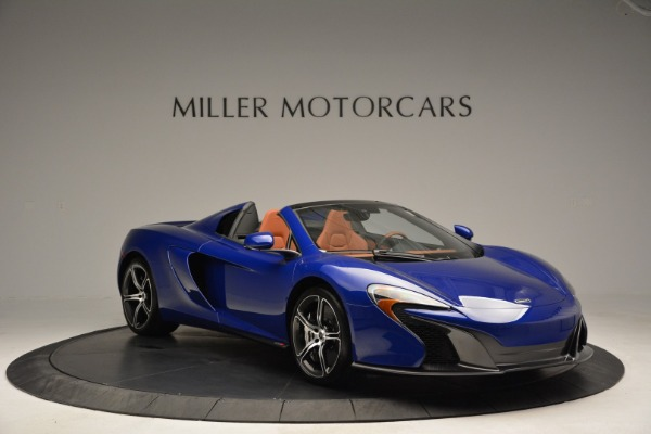 Used 2015 McLaren 650S Spider Convertible for sale Sold at Bugatti of Greenwich in Greenwich CT 06830 11