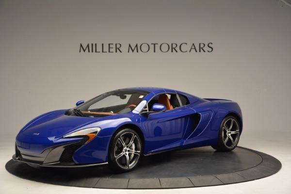 Used 2015 McLaren 650S Spider Convertible for sale Sold at Bugatti of Greenwich in Greenwich CT 06830 14