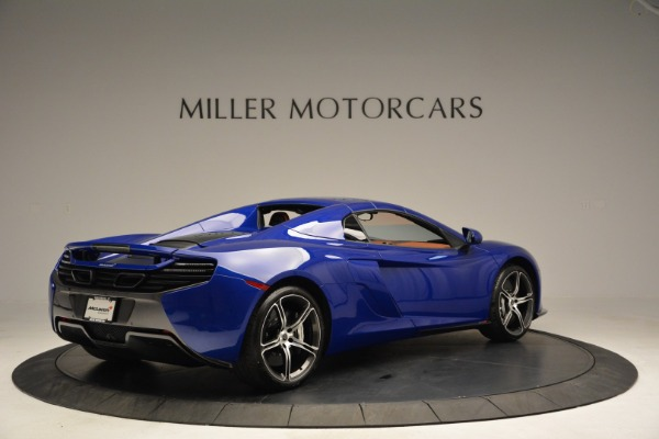 Used 2015 McLaren 650S Spider Convertible for sale Sold at Bugatti of Greenwich in Greenwich CT 06830 18