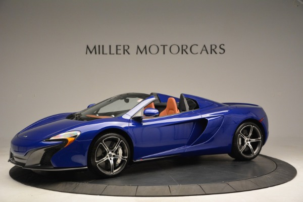 Used 2015 McLaren 650S Spider Convertible for sale Sold at Bugatti of Greenwich in Greenwich CT 06830 2