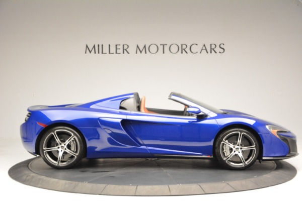 Used 2015 McLaren 650S Spider Convertible for sale Sold at Bugatti of Greenwich in Greenwich CT 06830 9